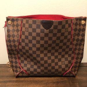 Authentic Louis Vuitton Caissa Canvas Hobo Bag